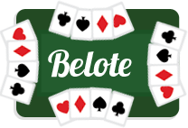 Jeu de cartes : belote