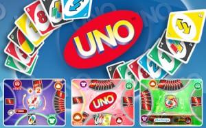 Présentation des cartes du jeu de uno
