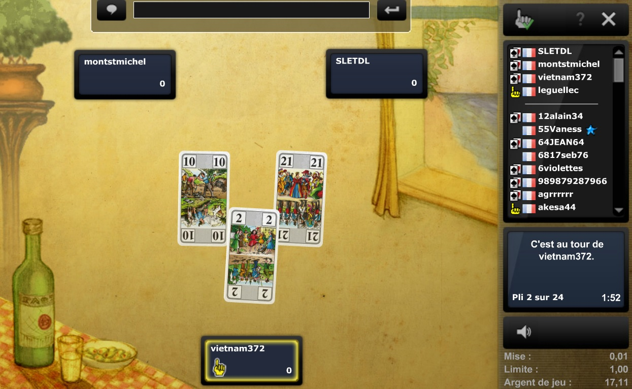 Tarot Skill7 en argent réel